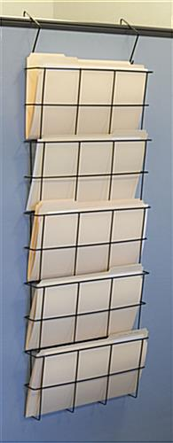 Legal Size Wall File, Steel Wire