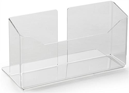 Frameless Lucite Newspaper Display