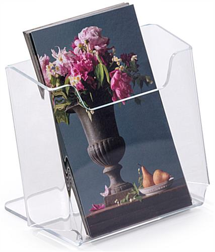 Angled Tabletop Brochure Holders