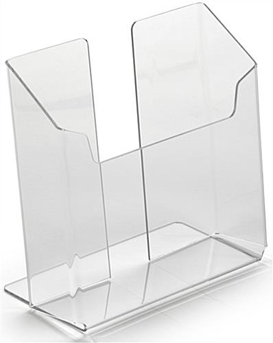 Acrylic Counter Brochure Holder