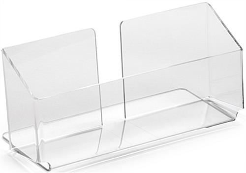 Clear Half-Height Literature Holder