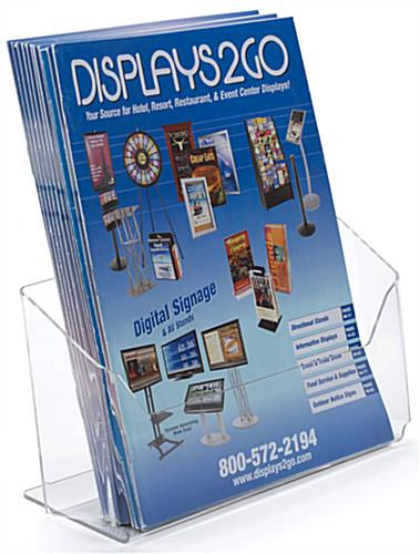 Brochure/Magazine Display with Single Pocket