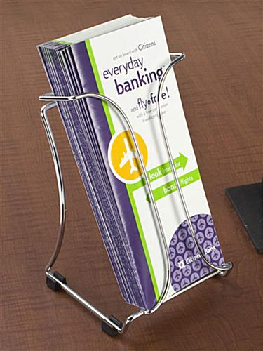 trifold brochure stand