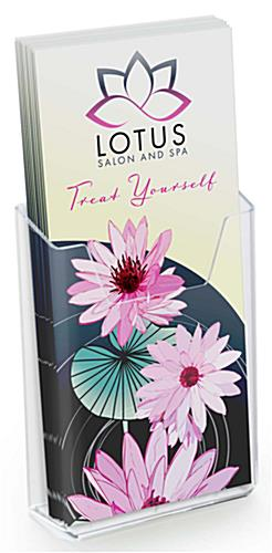 Countertop Plexiglass Brochure Holder