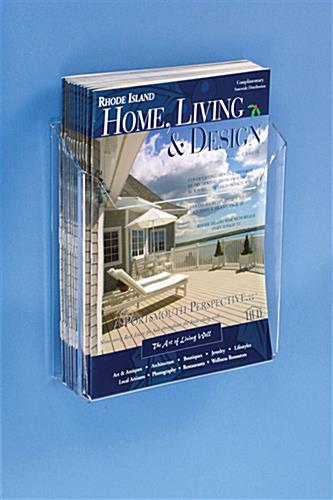 Lucite Magazine Holder Sized For 8 5 Quot Wide Materials
