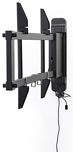 motorized tv wall mount panning motion