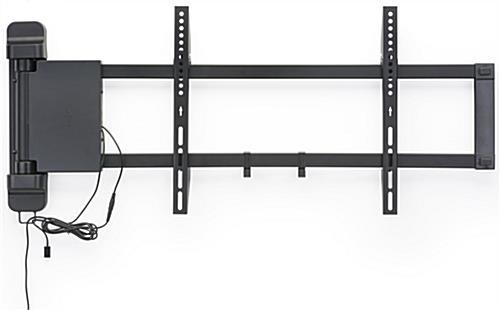 "Motorized TV Wall Mount w/ Panning Bracket, 26""-47"" Screens - Black"
