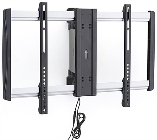 Remote Control Tv Mount motorized tv wall mount - home design