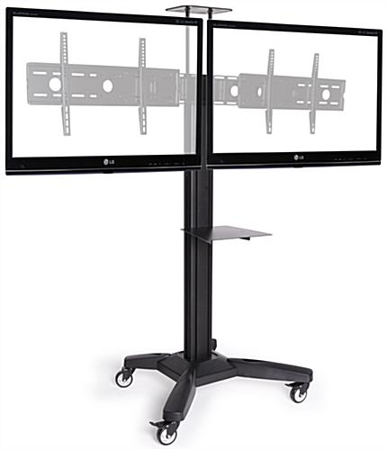 Side by Side Dual TV Stand