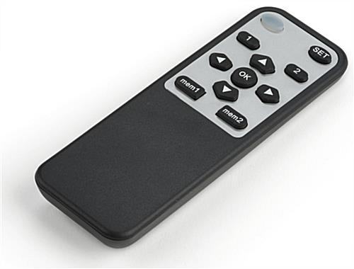Motorized Drop Down TV Mount with Remote Control
