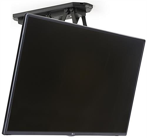Flip Down TV Ceiling Mount with Built in Motor
