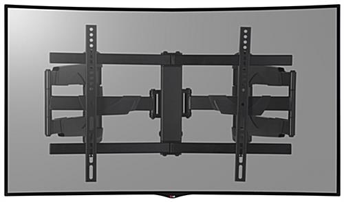 TV Corner Mount for Curved Screens