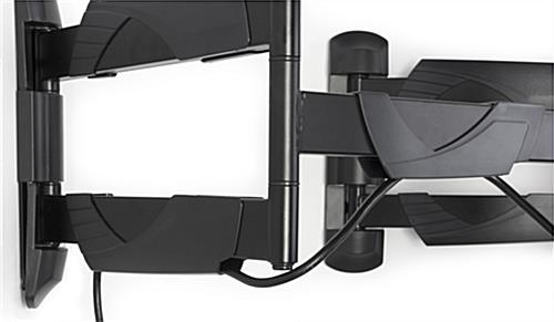 TV Corner Mount with Integrated Cable Management