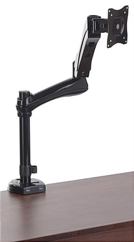 Computer Monitor Arm Desk Mount with 2 USB Ports