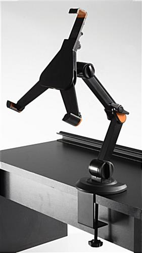 Tablet Desk Stand Bendable Arm Fits Universal Sizes
