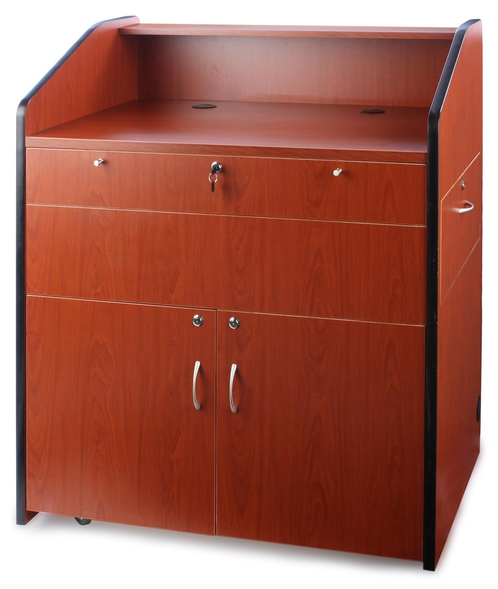 Locking Lecterns For Storage And Organization
