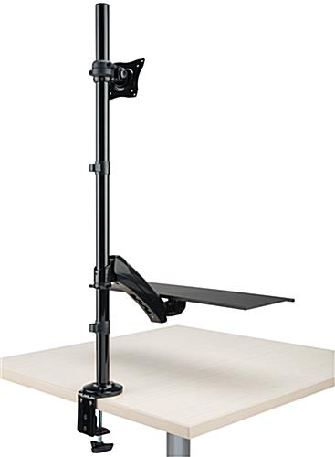 Extra Tall Monitor Arm Supports up to 17.6 lbs