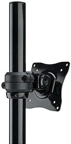 Extra Tall Monitor Arm with Tilting Bracket