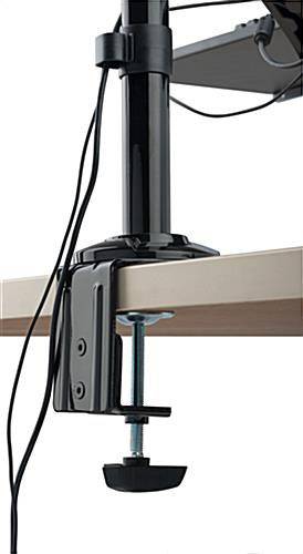Extra Tall Monitor Arm with Rotating Bracket