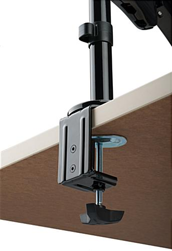 Sit Stand Monitor Arm with 2 Base Styles
