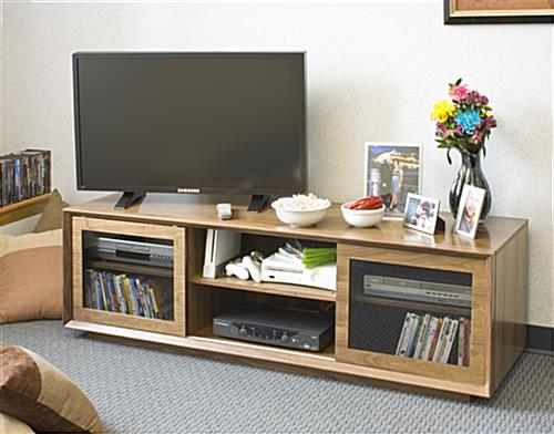 flat screen entertainment center