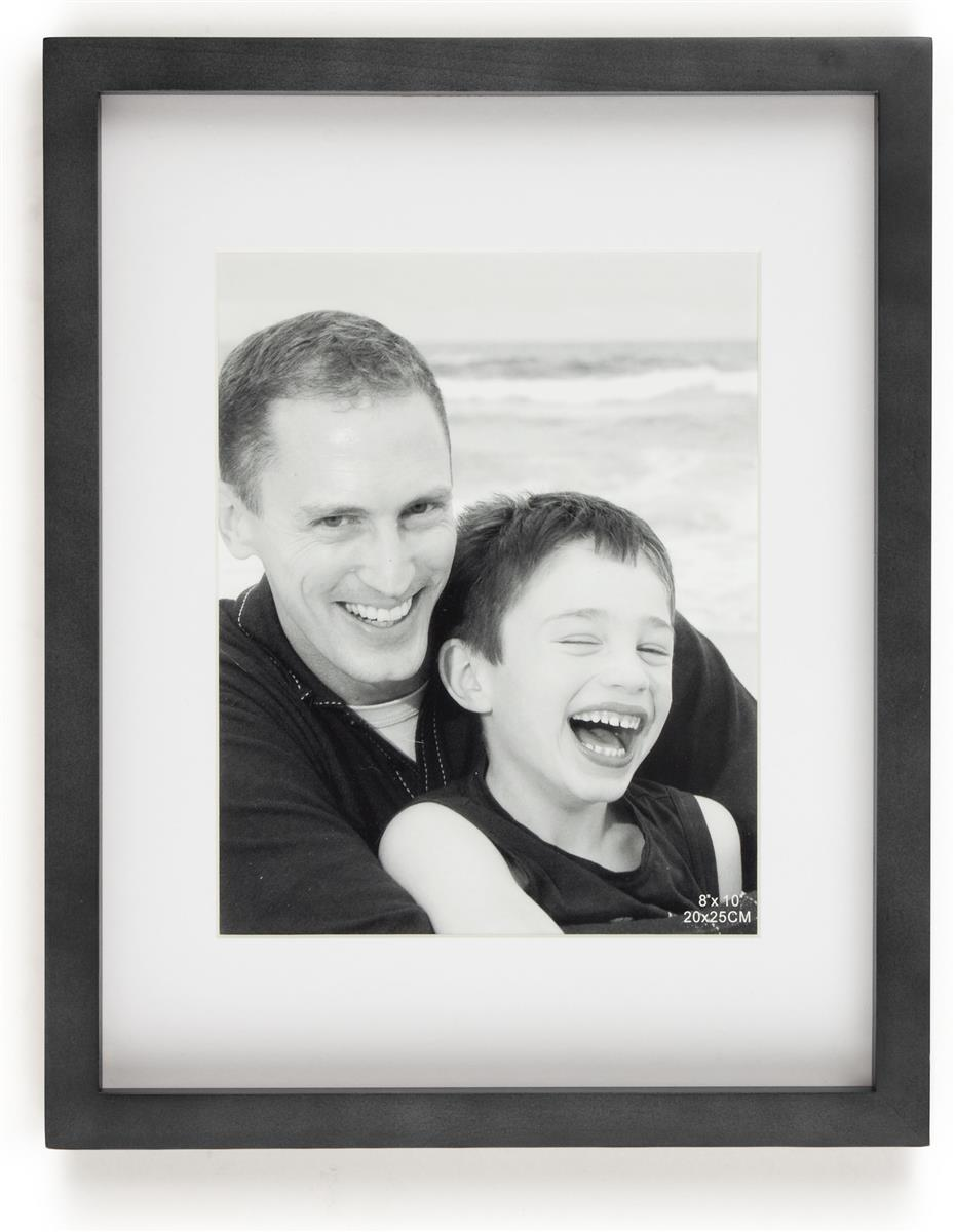 Matted Photo Holders Black Frame