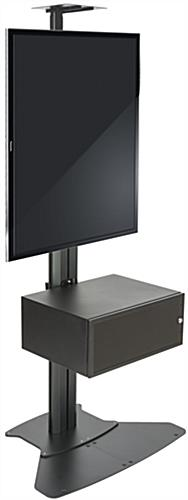 Video Conference Stand With Power Supply & AV Cabinet