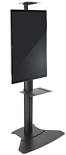 Floor Standing TV Stand With Power Supply, Portrait or Landscape View