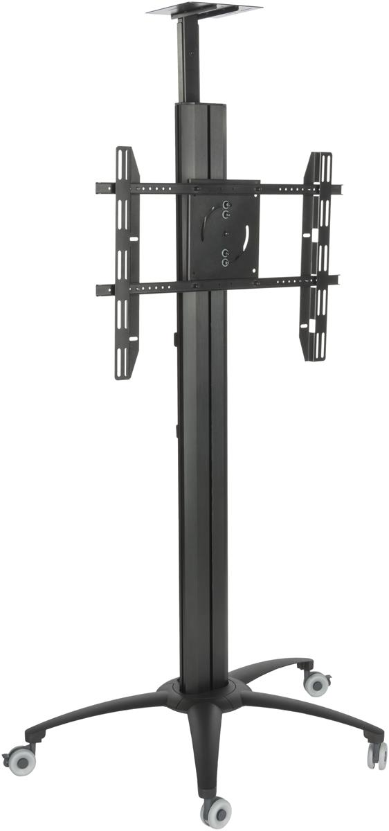 Floor Standing Tv Stand With Power Strip Camera Tray