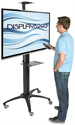 Flat Screen TV Trolley for Presentations