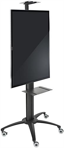 Flat Screen TV Trolley Supports Portrait or Landscape View