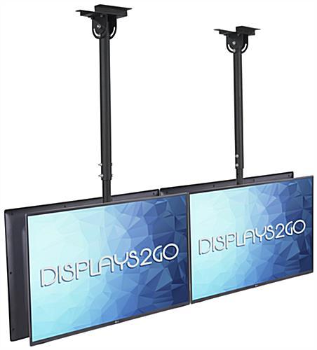 ceiling tv mount home depot vizio 55 inch black quad flat panels