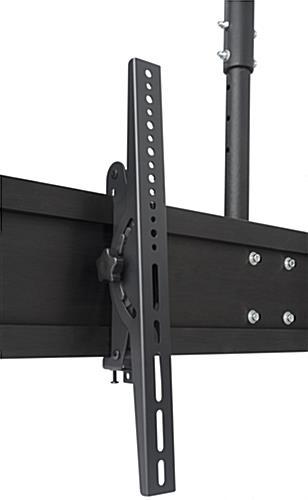 quad tv ceiling mount with tilting bracket - Tv Ceiling Mount