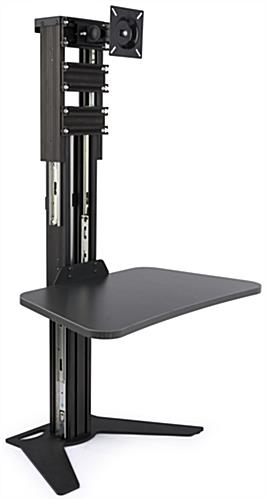 Sit Stand Riser with Gas Adjustments