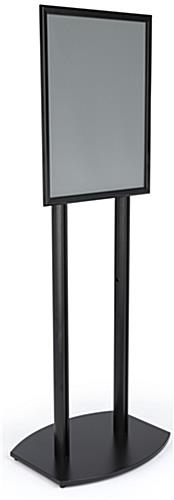 22x28 Double Pole Sign Stand with Snap Frame