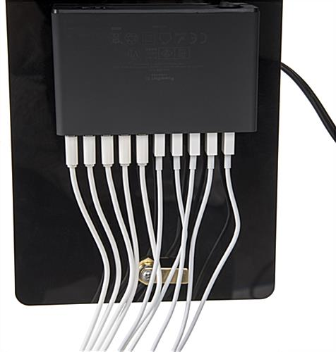 Branded Charging Station with USB Hub