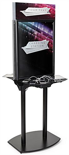 Branded Charging Station with Custom Printing