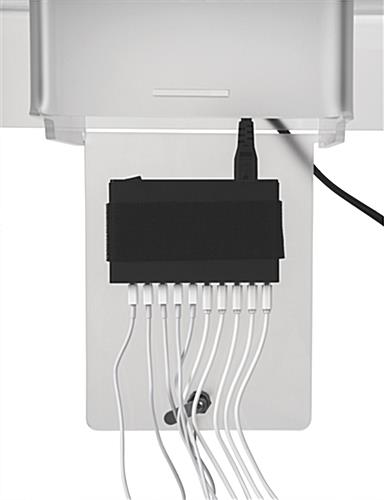 Poster Kiosk Charging Station with USB Hub