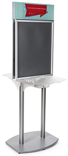 Double Sided Charging Station Poster Frame