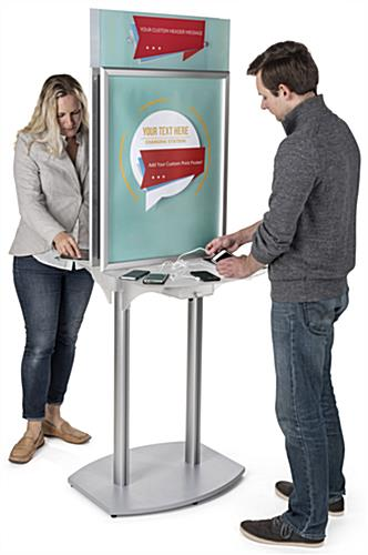 Charging Station Poster Frame for Airports