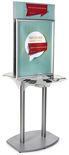 Charging Station Poster Frame with Custom Headers