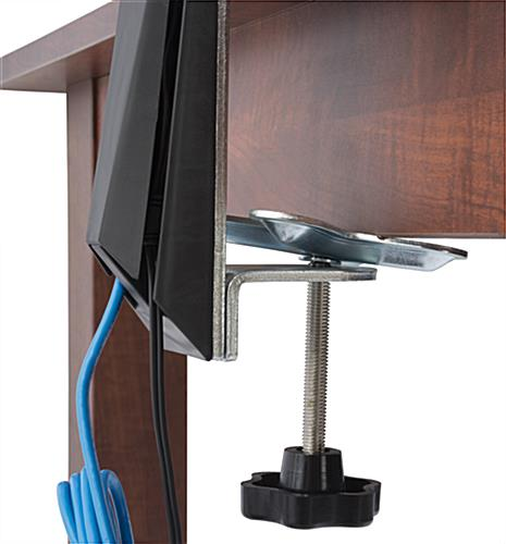 Dual Monitor Arm Desk Clamp