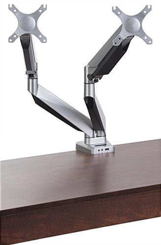 Desk Mounted Dual Monitor Arm