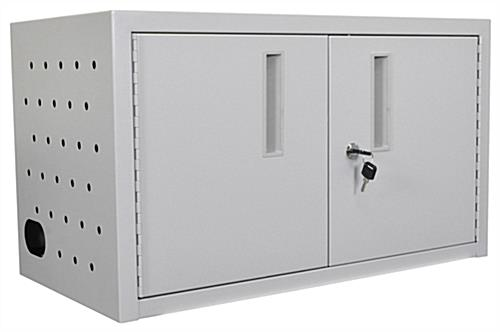 Laptop Security Cabinet with Ventilation System