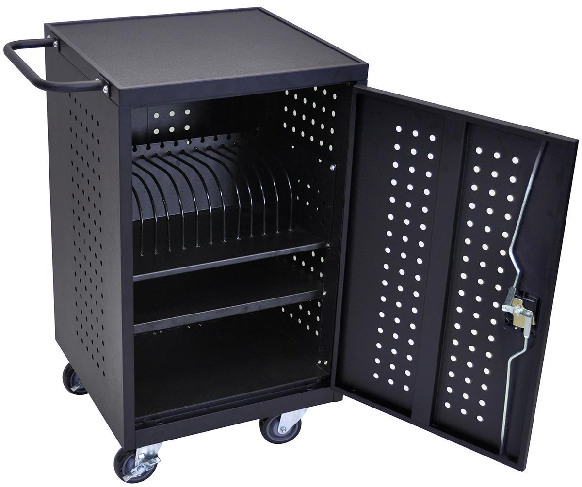 av cart with locking