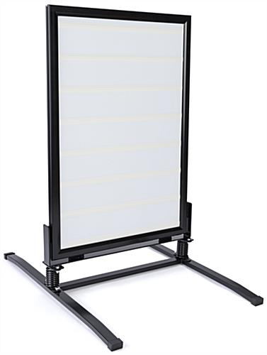 portable a frame changeable letter folding signs a frame portable sign with changeable letter set 320 symbols 838