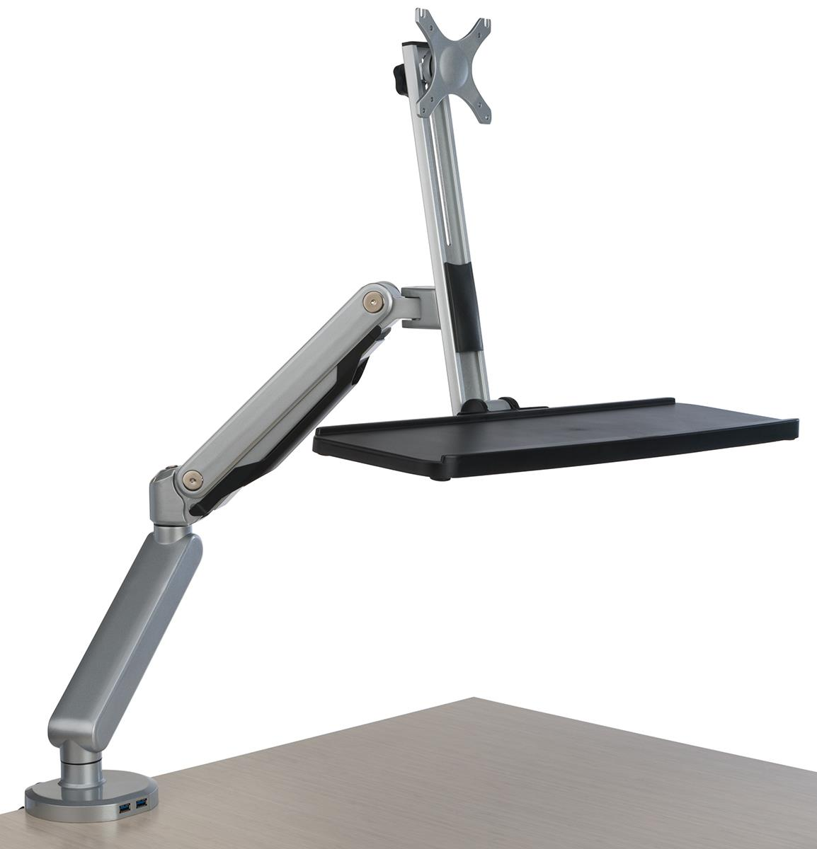 100+ [ Desk Mount Monitor Arm 32 ] : Amazon Com Mount It Dual Monitor Desk Stand Lcd Mount,45 ...