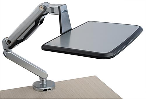 Adjustable Laptop Desk Stand with Gas Spring Arm
