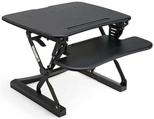 Keyboard Riser Standing Desk with Adjustable Height
