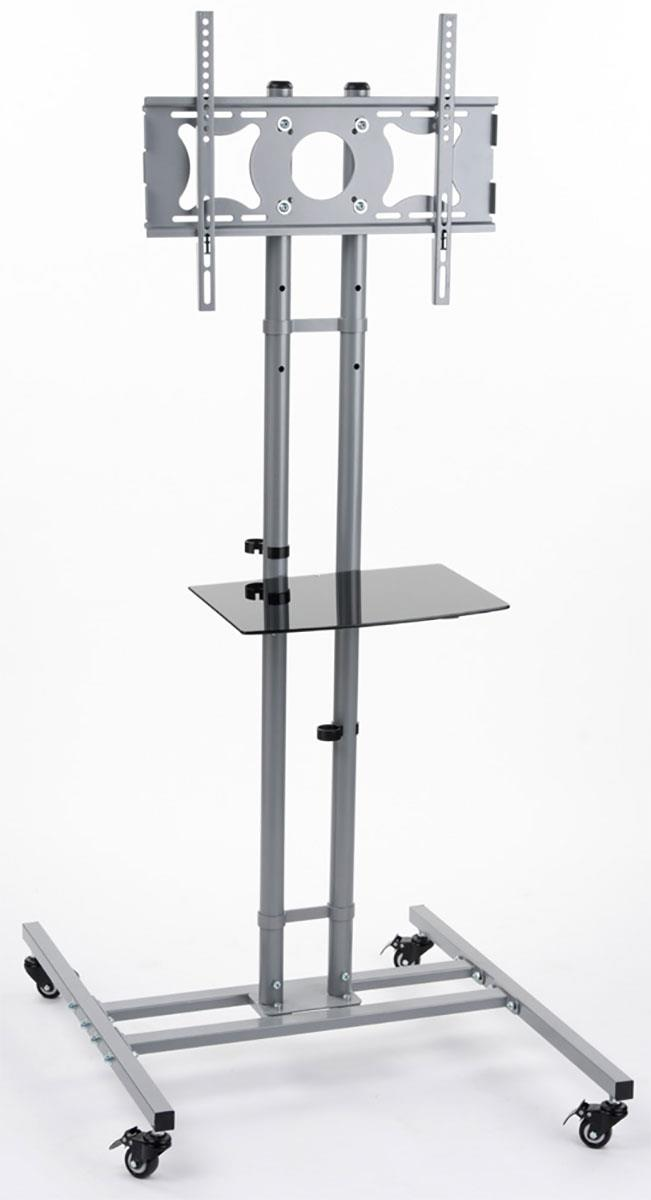 Silver Adjustable Height Tv Stands For 32 Quot 50 Quot Screens